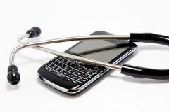 Mobile health Royalty Free Stock Photography