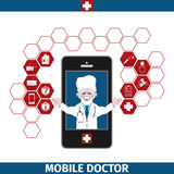 Mobile healthcare services Stock Image