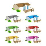 Mobile hiomes for design map Royalty Free Stock Photo