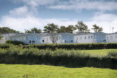 Mobile holiday homes Stock Photography