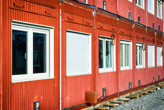 Mobile home container Stock Images