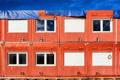 Mobile home container Royalty Free Stock Photos