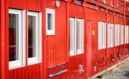 Mobile home container Royalty Free Stock Photography