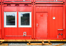 Mobile home container Royalty Free Stock Images