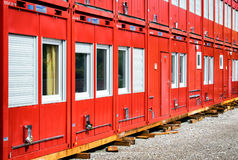 Mobile home container Royalty Free Stock Image