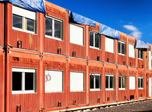 Mobile home container Stock Image