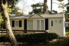 Mobile home for holidays. France Royalty Free Stock Images