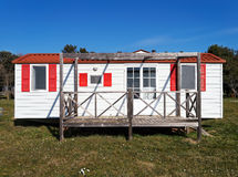 Mobile home Stock Image