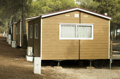 Mobile homes Royalty Free Stock Image