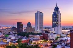 Mobile, horizon de l'Alabama Photographie stock