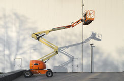 Mobile hydraulic crane Stock Images