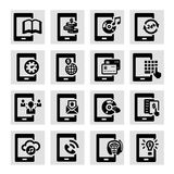 Mobile icons Royalty Free Stock Image