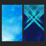 Mobile interface wallpaper design. Set of abstract Royalty Free Stock Image