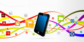 Mobile internet Royalty Free Stock Photography