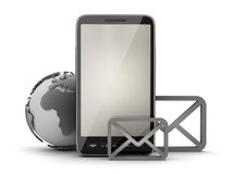 Mobile internet - concept illustration Royalty Free Stock Image