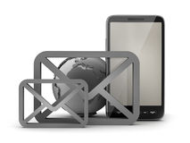 Mobile internet - concept illustration Royalty Free Stock Photos