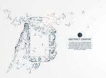 Mobile Internet technology. Mobile Internet technology, vector illustration stock illustration