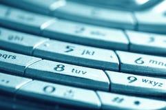 Mobile keyboard Stock Image