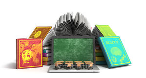 Mobile knowledge school or college education business office wor Stock Image