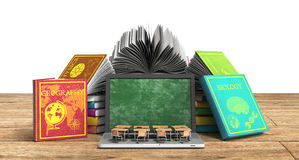 Mobile knowledge school or college education business office wor Stock Photo