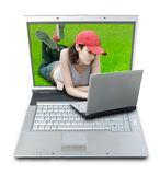 Mobile Life. (clipping path included Royalty Free Stock Photography