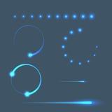 Mobile loading progress bar template. Preloader. Vector illustration royalty free illustration