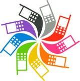 Mobile logo Stock Photography