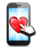 Mobile Love Stock Photography