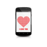 Mobile of Love  Stock Image