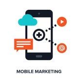 Mobile marketing Stock Photo
