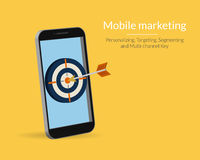 Mobile marketing Stock Images