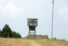 Mobile medium range radar NUR 15. Royalty Free Stock Photos