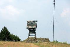 Mobile medium range radar NUR 15. Royalty Free Stock Images