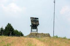 Mobile medium range radar NUR 15. Stock Photography