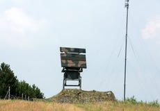 Mobile medium range radar NUR 15. Royalty Free Stock Photography