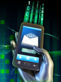 Mobile messaging vector illustration