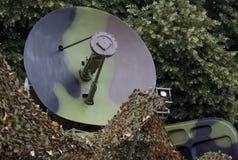 Mobile military radar Stock Photo