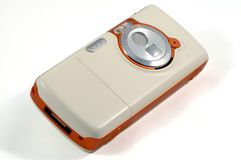 Mobile mit Kamera Lizenzfreie Stockfotografie
