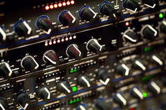 Mobile mixing rack Stock Photography