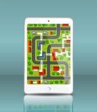 Mobile navigation Royalty Free Stock Photo