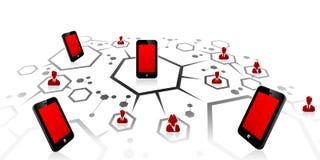 Mobile network Stock Photos