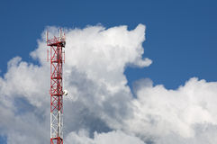 Mobile network tower Stock Photography