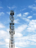 Mobile network tower Stock Photo