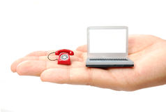 Mobile office Royalty Free Stock Photos
