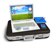 Mobile office Royalty Free Stock Photography