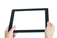 Mobile pad isolated Royalty Free Stock Photography