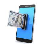 Mobile payment Royalty Free Stock Photography