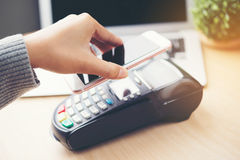 Mobile payment , Royalty Free Stock Photos