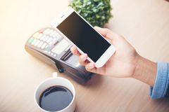 Mobile payment , Royalty Free Stock Images
