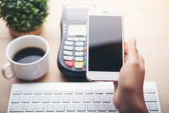 Mobile payment , Royalty Free Stock Photo